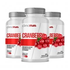 Cranberry - Promoção 3 Unidades - ClinicMais