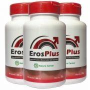 Eros Plus - Promoção 3 Unidades