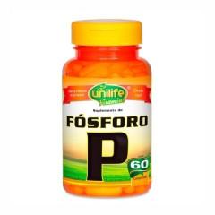 Fósforo Quelato - 60 Comprimidos - Unilife