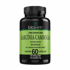 Garcínia Cambogia - 60 Cápsulas - Bioklein