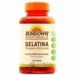 Gelatina - 100 Cápsulas - Sundown