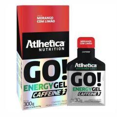Go Energy Gel Caffeine - 10 sachês (1cx.) - Atlhetica Nutrition
