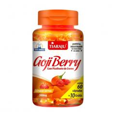 Goji Berry com Picolinato de Cromo - 60 + 10 Cápsulas - Tiaraju