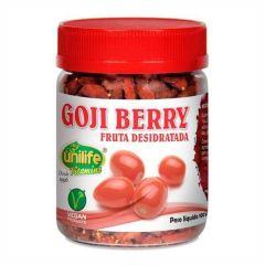 Goji Berry Fruta Desidratada - 100g - Unilife