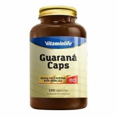 Guaraná Caps 60mg - 120 Cápsulas - Vitaminlife