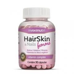 Hair Skin & Nails Femme Nutri-Hair Complex - 90 Cápsulas - Maxinutri