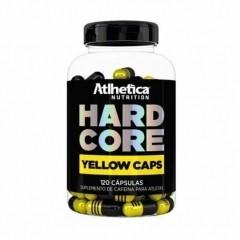 Hardcore Yellow Caps - 120 Cápsulas - Atlhetica Nutrition