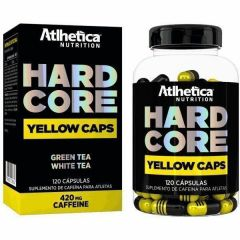 Hardcore Yellow Caps - 120 Cápsulas - Atlhetica Nutrition