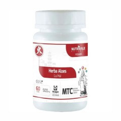 Herba Aloes (Aloe Vera) - 120 Cápsulas - NutriVale