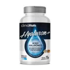 Hyaluron + (Ácido Hialurônico) - 30 Cápsulas - ClinicMais