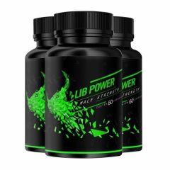 Lib Power Male Strength - Promoção 3 Unidades