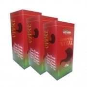 Limpeza Vital (Ling Zhi - Limpeza Chinesa) - Promoção 3 Unidades - Supra Ervas