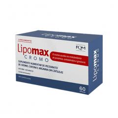 Lipomax Cromo - 60 Cápsulas - Divcom Pharma