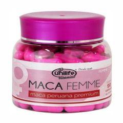 Maca Femme Premium 550mg - 90 Cápsulas - Unilife