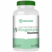Magnésio Quelato - 60 Cápsulas - Nature Center