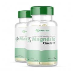 Magnésio Quelato - 60 Cápsulas - Promoção 2 Unidades - Nature Center