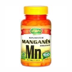 Manganês - 60 Cápsulas - Unilife