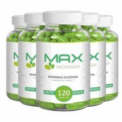 Max Moringa - Promoção 5 Unidades