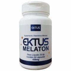 Melaton 430mg - 60 Cápsulas - Ektus
