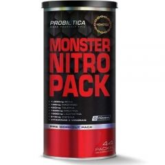 Monster Nitro Pack NO2 - 44 Packs - Probiótica