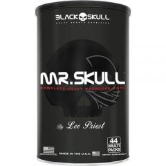 Mr. Skull - 44 Packs - Black Skull