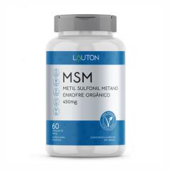 MSM Enxofre Orgânico - 60 Cápsulas - Lauton Nutrition