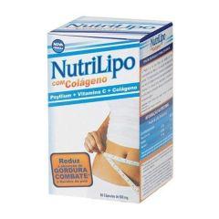 NutriLipo com Colágeno - 60 Cápsulas - Vidfarma