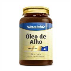 Óleo de Alho - 60 Softgels - Vitaminlife