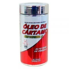 Óleo de Cártamo com Vitamina E - 90 Cápsulas - Health Labs