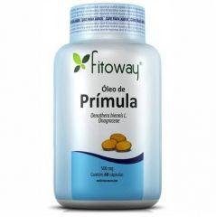 Óleo de Prímula 500mg - 60 Cápsulas - Fitoway