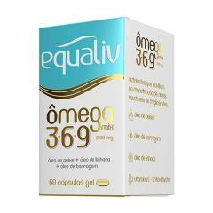 Ômega 3-6-9 - 60 Cápsulas - Equaliv
