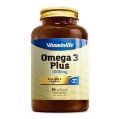 Omega 3 Plus 1000mg - 90 Softgels - Vitaminlife