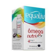 Ômega Nutri A-Z - 60 Cápsulas - Equaliv