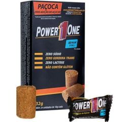 Paçoca Zero - 24 Unidades (1 cx.) 432g - Power 1 One