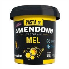 Pasta de Amendoim Integral c/ Mel - 450g - Mandubim