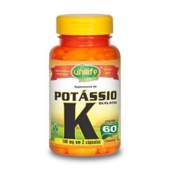 Potássio Quelato - 60 Cápsulas - Unilife