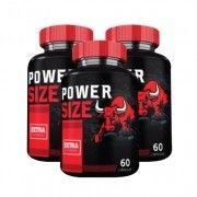 Power Size - Promoção 3 Unidades
