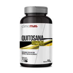 Quitosana Spirulina Acerola e Biotina - 100 Cápsulas - Chá Mais
