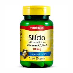 Silício + Vitaminas - 60 Cápsulas - Maxinutri