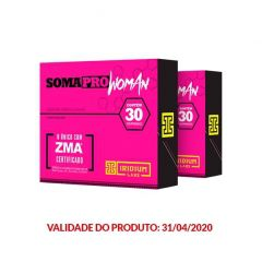 SomaPro Woman ZMA - 30 Comprimidos -  Promoção 2 Unidades - Iridium Labs