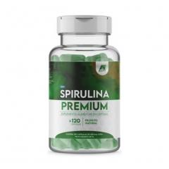 Spirulina Premium - 120 Cápsulas - AllFit Nutrition