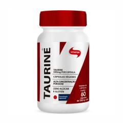Taurine - 60 Cápsulas - Vitafor