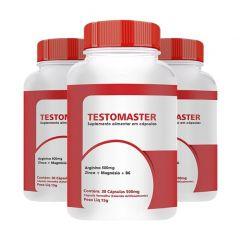Testomaster - 30 Cápsulas - Promoção 3 Unidades
