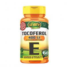 Tocoferol (Vitamina E) - 60 Comprimidos - Unilife