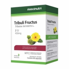 Tribuli Fructus (Tribulus Terrrestris) - 60 Cápsulas - Maxinutri