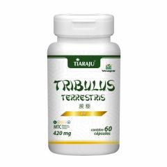 Tribulus Terrestris - 60 Cápsulas - Tiaraju