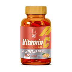Vitamin C 1g + Zinco - 90 Cápsulas - Health Labs