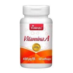Vitamina A - 60 Cápsulas - Tiaraju