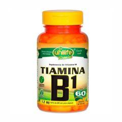 Vitamina B1 (Tiamina) - 60 Cápsulas - Unilife