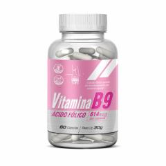 Vitamina B9 (Ácido Fólico) - 60 Cápsulas - Health Labs